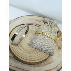 Bracelet jonc Flavie